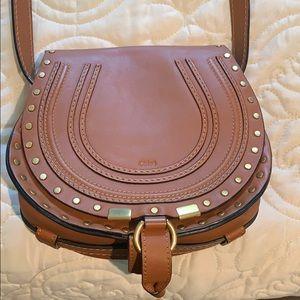 Chloe mini Embossed saddle bag